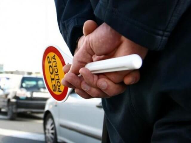 Akcija saobraćajne policije na Zrenjaninskom putu