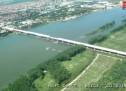 EKSKLUZIVNO: Most Zemun-Borča iz vazduha, 2014