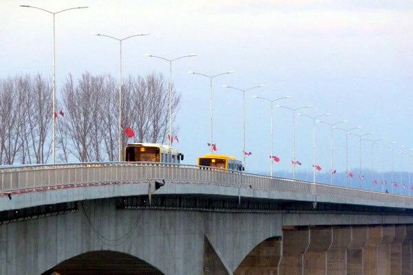 """Zemunci """"kao"""" nemaju potrebu da prelaze Pupinov most"""
