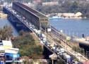 Zastoj zbog lančanog sudara na Pančevačkom mostu