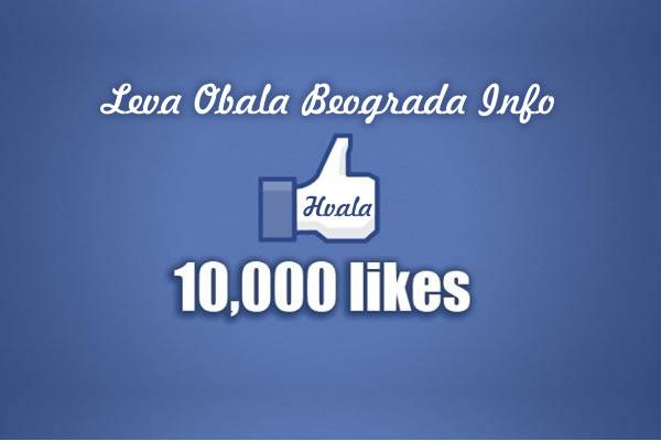 10.000 fanova na našoj Facebook stranici - 21-08-2015