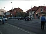 Devojcicu udario auto u Borči - trag kočenja