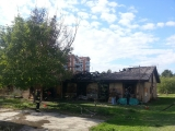 Izgorela baraka u Centru 3 (Borča) - 18.10.2013.