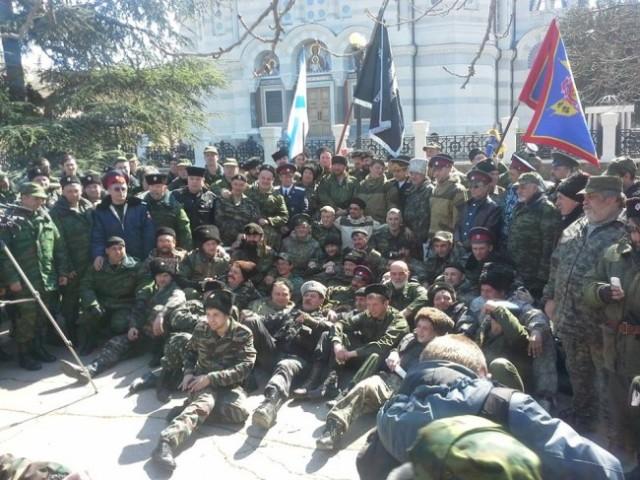 Četnici sa Krima stižu u Kotež
