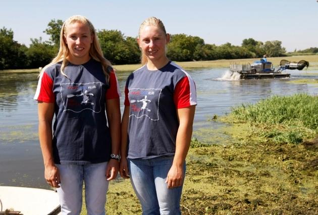 Kajakaška regata u Borči - 2014 - Sestre Moldovan