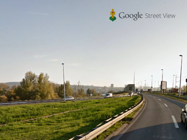 Google Street - Pancevacki most