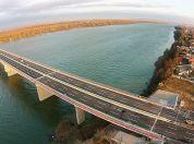 Slike Pupinovog mosta Zemun Borca iz vazduha - 2014
