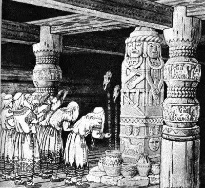 Slovenska mitologija - Svetovid