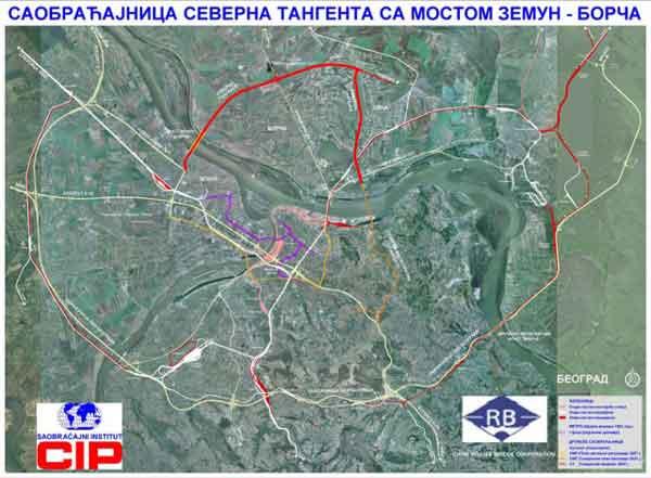 Mehanizacija za izgradnju severne tangente uništava puteve u Ovči