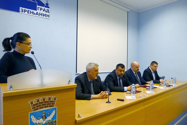 Ugovor GSP Zrenjanin Centa 109