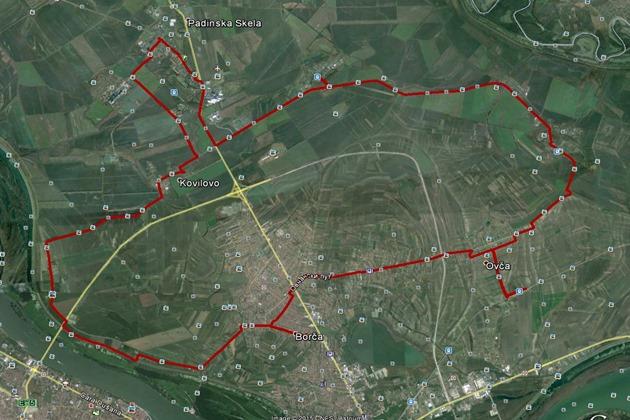 borca-ovca-jabucki-glogonjski-padinska-skela-kovilovo-crvenka-borca-mapa-2015-09-04