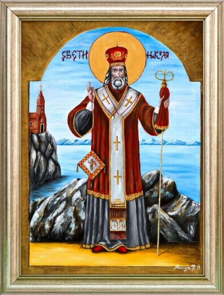 Srećna slava svima koji danas slave Svetog Nikolu