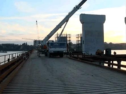 Betoniranje Kineskog mosta