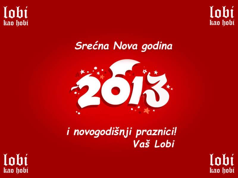 Želimo Vam Srećnu Novu Godinu – Vaš Lobi