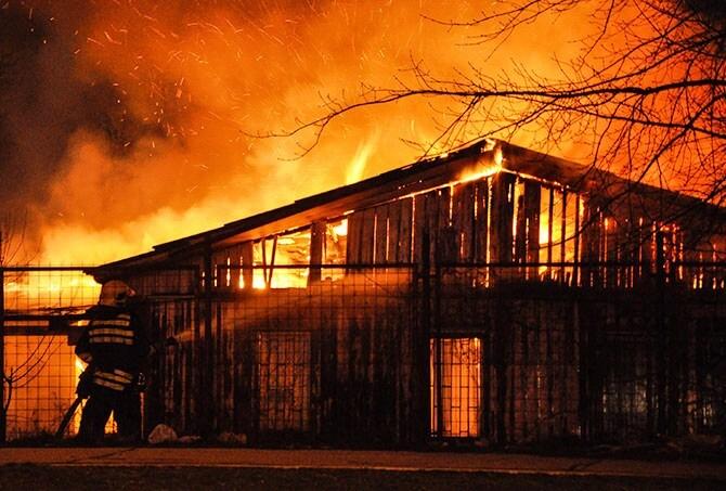 Požar u Krnjači
