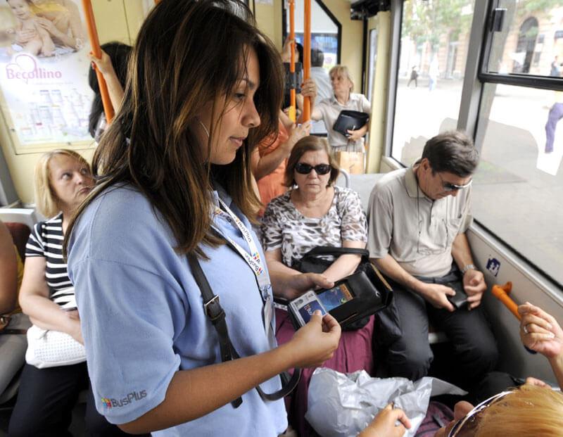 Pretučena kontrolorka Bus plusa u autobusu na liniji 95 - 09.07.2013