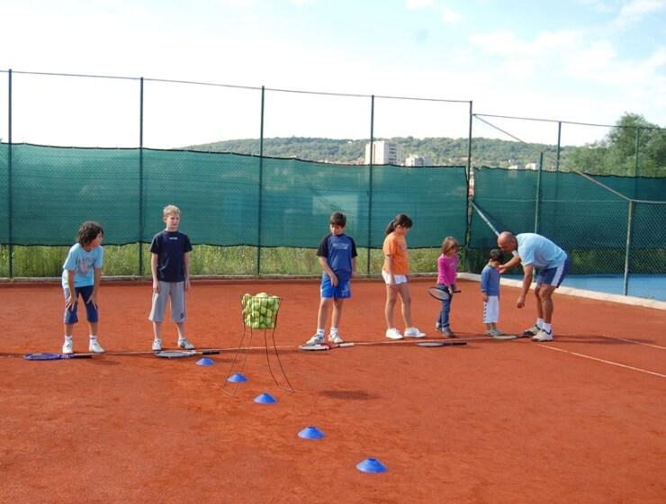 Besplatna škola tenisa za decu Palilule - 02.07.2013