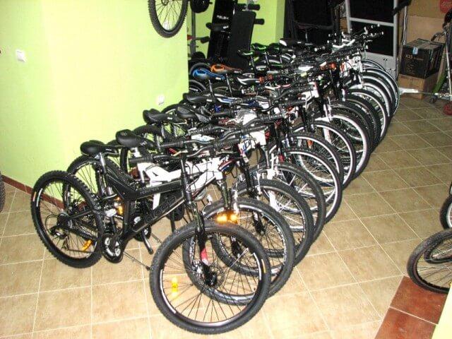 U policijskom magacinu nije ostala ni jedna zaplenjena bicikla