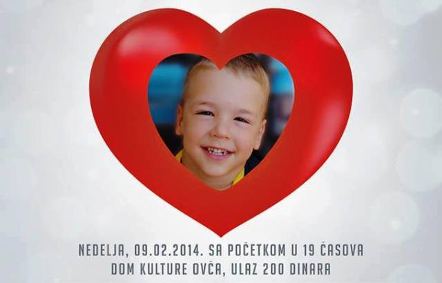 Humanitarni koncert u Ovči: Srcem za Vuka