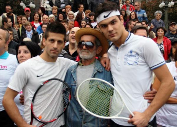 Zakazan meč: Nole iz Borče protiv Federera sa Novog Beograda - 05.02.2014