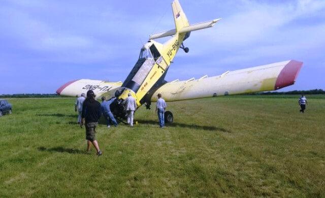 Na Lisičijem Jarku pilot zakucao avion