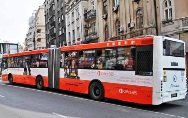 Uhvati Office 365 autobus na linije 95 i osvoji nagradu!