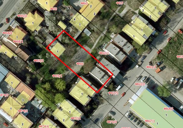 Komšija je vlasnik parcele, a zgrada ne postoji - 2014