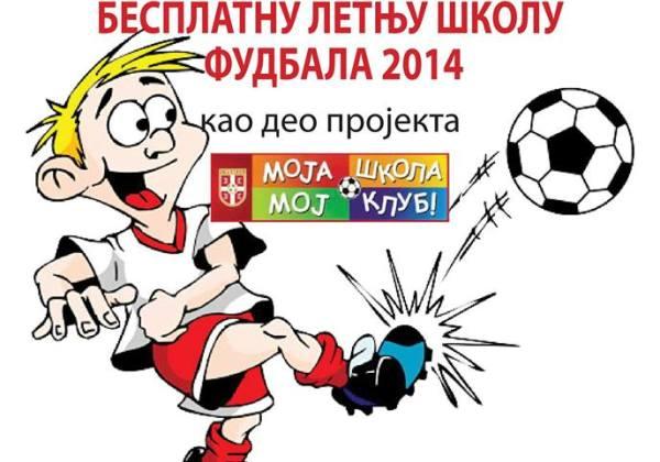 OFK Crvenka i FSS organizuju besplatnu letnju školu fudbala - 2014