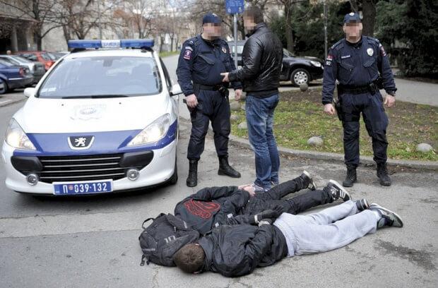 U Kotežu uhapšeni osumnjičeni za niz razbojništava - 2014
