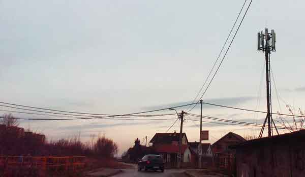 Stanovnici Malog Zbega uplašeni postavkom bazne stanice 26.1.2015.