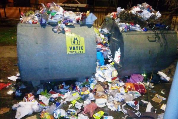 Pravna lica u Borči će biti kažnjavana zbog odlaganja smeća-2015