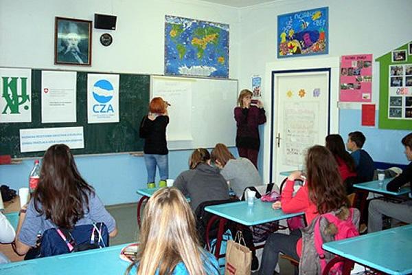 Interaktivno predavanje u OŠ Zaga Malivuk u Krnjači - 2015