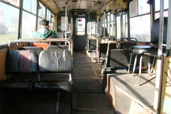 Svakodnevne slike iz autobusa koji saobraćaju levom obalom - 2015