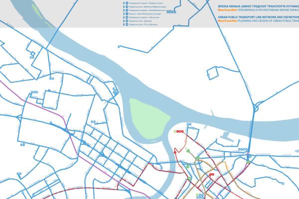 Trasa buduće linije 82 od Borče do Bloka 44-2016