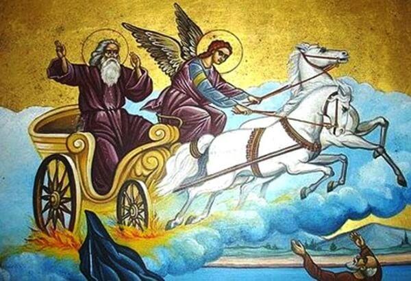 Srećna slava svima koji danas slave Svetog Iliju