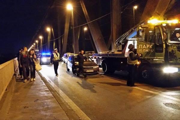 U sinoćnom udesu na Pančevačkom mostu… 2015