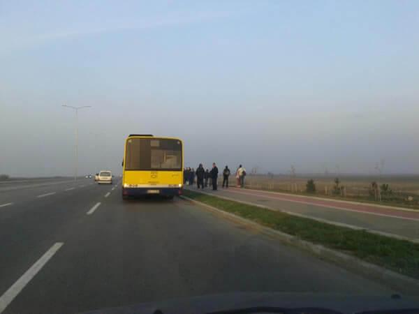 Pokvaren autobus na obilaznici, LOBI