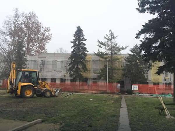 """Bolnica """"Laza Lazarević"""" Padinska Skela - renoviranje, LOBI"""