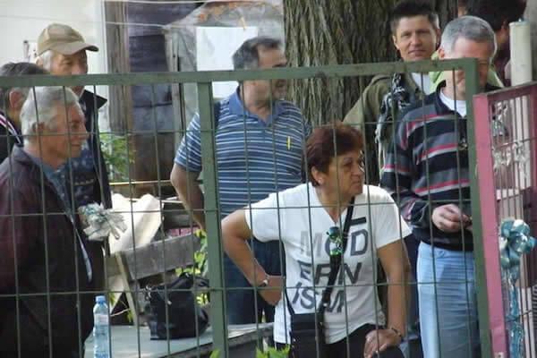 Izbacivanje na ulicu radnika Trudbenika, LOBI