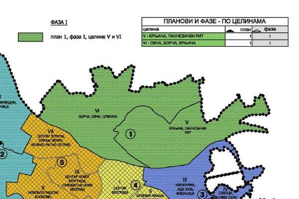 Usvojeni GUP: Leva obala dobija privrednu zonu-2016