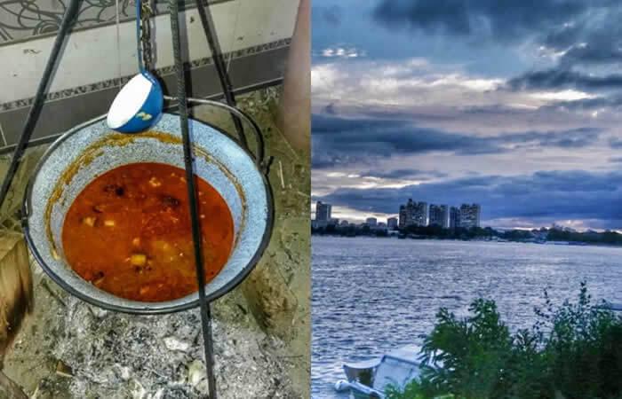 Nautički klub Bolje vas našli, takmičenje u kuvanju pasulja