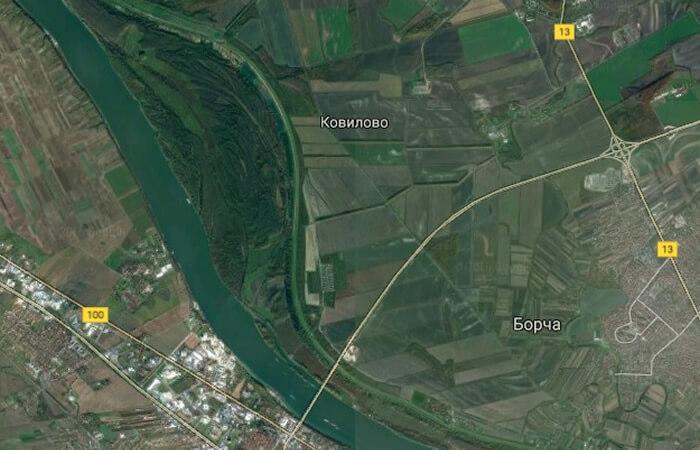 Lokacija nove Luke Beograd, LOBI