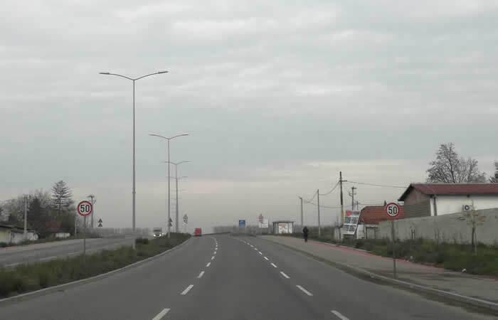 Pupinov most, ograničenje brzine, LOBI
