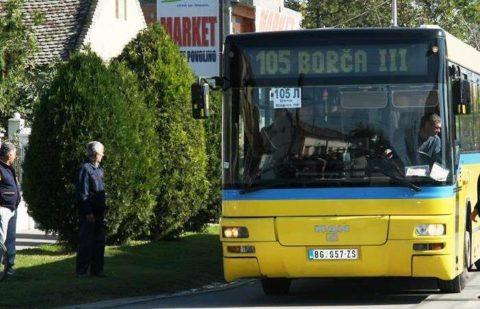 Linije 105 i 105l red vožnje, LOBI