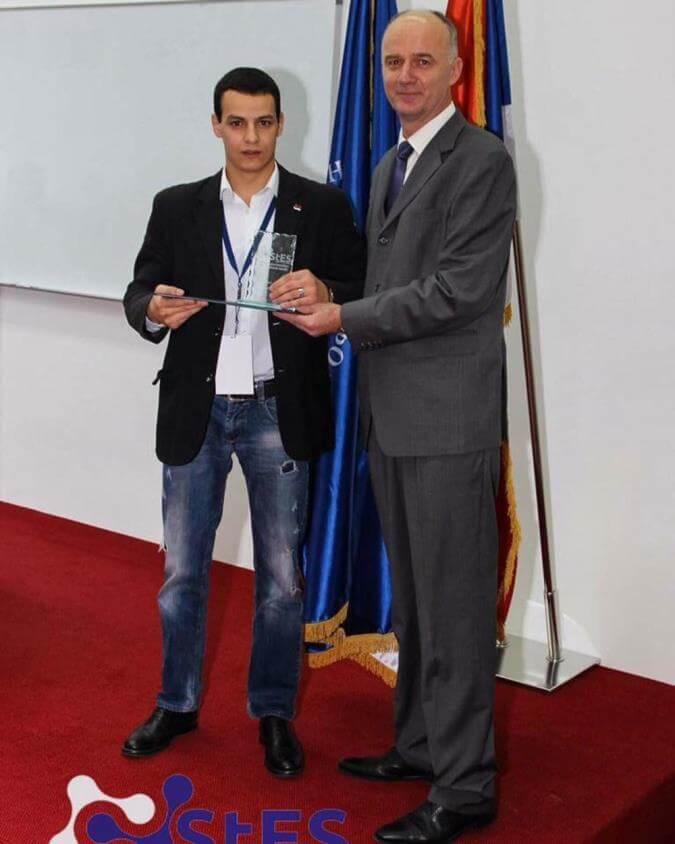Svečana dodela nagrada na naučno-stručnoj konferenciji STES-a sa rektorom Univerziteta u Banja Luci prof. dr Radoslavom Gajanin
